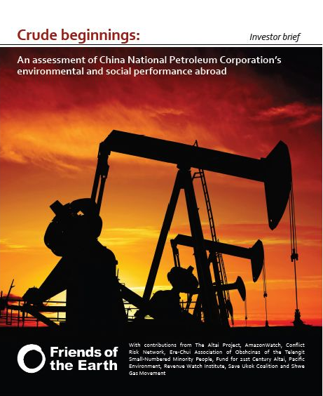 Crude beginnings: the environmental footprint of China National Petroleum Corporation around the world